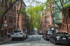 Free Historic Buildings On Beacon Hill, Boston, USA Royalty Free Stock Photography - 125300397