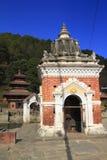 Historic Buildings in Panauti Nepal Royalty Free Stock Image