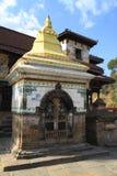 Historic Buildings in Panauti Nepal Royalty Free Stock Photos