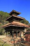 Historic Buildings in Panauti Nepal Stock Images