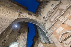 Historic buildings in Perugia Royalty Free Stock Photography