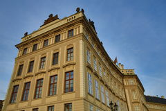 Historic buildings, the Prague castle, Czech Republic Stock Photography