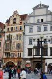 Historic buildings in Prague Royalty Free Stock Photo