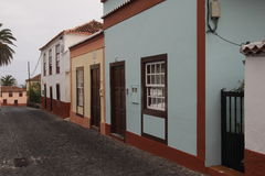 Historic buildings in San Andres, Canary Islands Stock Photos