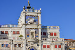 Historic buildings in San Marco square of Venice Stock Photo