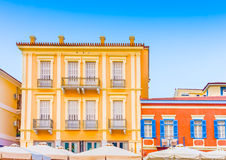Historic buildings on square Royalty Free Stock Photo