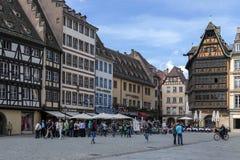 Historic Buildings - Strasbourg - France Stock Photos