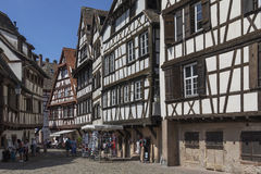 Historic Buildings - Strasbourg - France Royalty Free Stock Photos