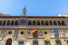 Historic buildings in Tarazona de Aragon, Saragossa, Spain Royalty Free Stock Photo