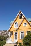 Historic Buildings of Valparaiso Stock Image