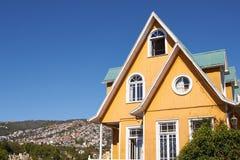 Historic Buildings of Valparaiso Stock Photos