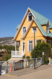 Historic Buildings of Valparaiso Royalty Free Stock Photos