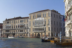 Historic buildings of Venice Stock Photos