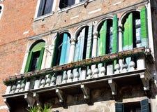 Venice Venezia  Italy. Historic buildings Venice Venezia Italy royalty free stock photo