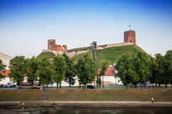 Historic buildings in Vilnius Stock Photography