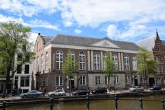 Historic Builings on Museumstraat in Amsterdam, Holland, Netherlands