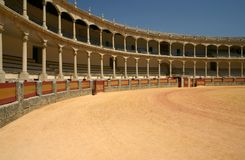 Historic Bullfighting Ring Stock Photos