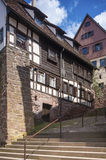 The historic burgher house Bäck black in Altensteig. Black Fore. St, Baden-Wurttemberg, Germany, Europe Royalty Free Stock Photography