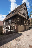 The historic burgher house Bäck black in Altensteig Stock Photos