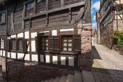 The historic burgher house Bäck black in Altensteig. Black Forest, Baden-Wurttemberg, Germany, Europe Royalty Free Stock Images