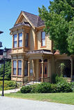 Historic Bushyhead House - 1887. Historic Bushyhead House, built in 1887, sits in Heritage Park Row in Old Town, San Diego, well-preserved and open to the public Stock Images
