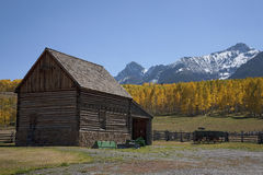 Historic cabin Royalty Free Stock Images
