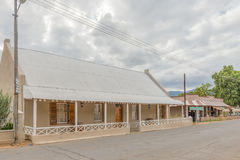 Historic Calitzdorp building which served as home, shop, postal Royalty Free Stock Photography