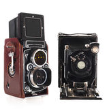 Historic camera's Royalty Free Stock Image