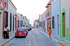 Historic campeche Royalty Free Stock Photography