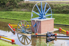 Historic canal near Elblag. Jelenie ramp. Royalty Free Stock Photography