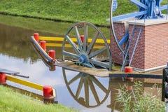 Historic canal near Elblag. Jelenie ramp. Royalty Free Stock Image