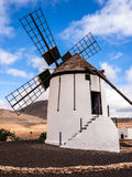 Historic Canary Islands Windmill Royalty Free Stock Images