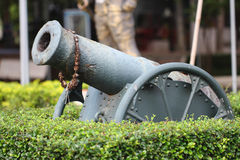 Historic cannon Royalty Free Stock Images