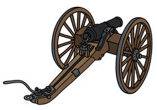 Historic cannon Royalty Free Stock Photo
