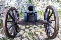 Historic cannon. Royalty Free Stock Photos