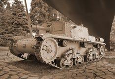 Historic cannon in pubblic park `La Rocca` Bergamo. Historic cannon in pubblic park `La Rocca` Bergamo, Lombardy, Italy Stock Images