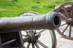 Historic cannons. Old ottoman empire period Stock Images