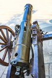 Historic cannons. (ottoman empire period Royalty Free Stock Photos