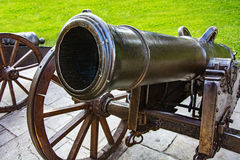 Historic cannons Royalty Free Stock Photography