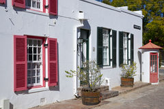 Historic Cape Dutch Architecture Royalty Free Stock Image