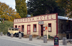 Historic Cardrona Hotel in Central Otago, New Zealand Stock Photos