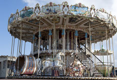 Historical roundabout - carousel - merry-go-round  Stock Photos