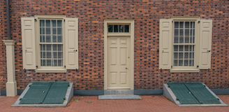 Historic Carpenter`s Hall in Philadelphia royalty free stock photography