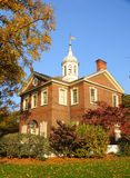 Historic Carpenters Hall. In the Fall - Philadelphia, Pennyslvania Stock Photo
