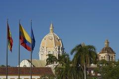 Historic Cartagena de Indias in Colombia Stock Images