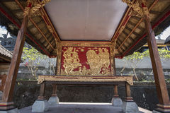 Historic carving at Besakih complex Pura Penataran Agung Bali, Indonesia. Stock Photography
