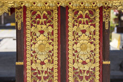 Historic carving at Besakih complex Pura Penataran Agung Bali, Indonesia. Royalty Free Stock Image