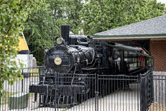 The Historic Casey Jones Home & Railroad Museum in Jackson, Tennessee Stock Photography