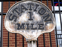 The Historic Casey Jones Home & Railroad Museum in Jackson, Tennessee Stock Photos