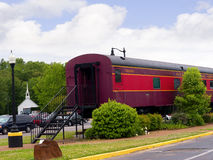 The Historic Casey Jones Home & Railroad Museum in Jackson, Tennessee Stock Images